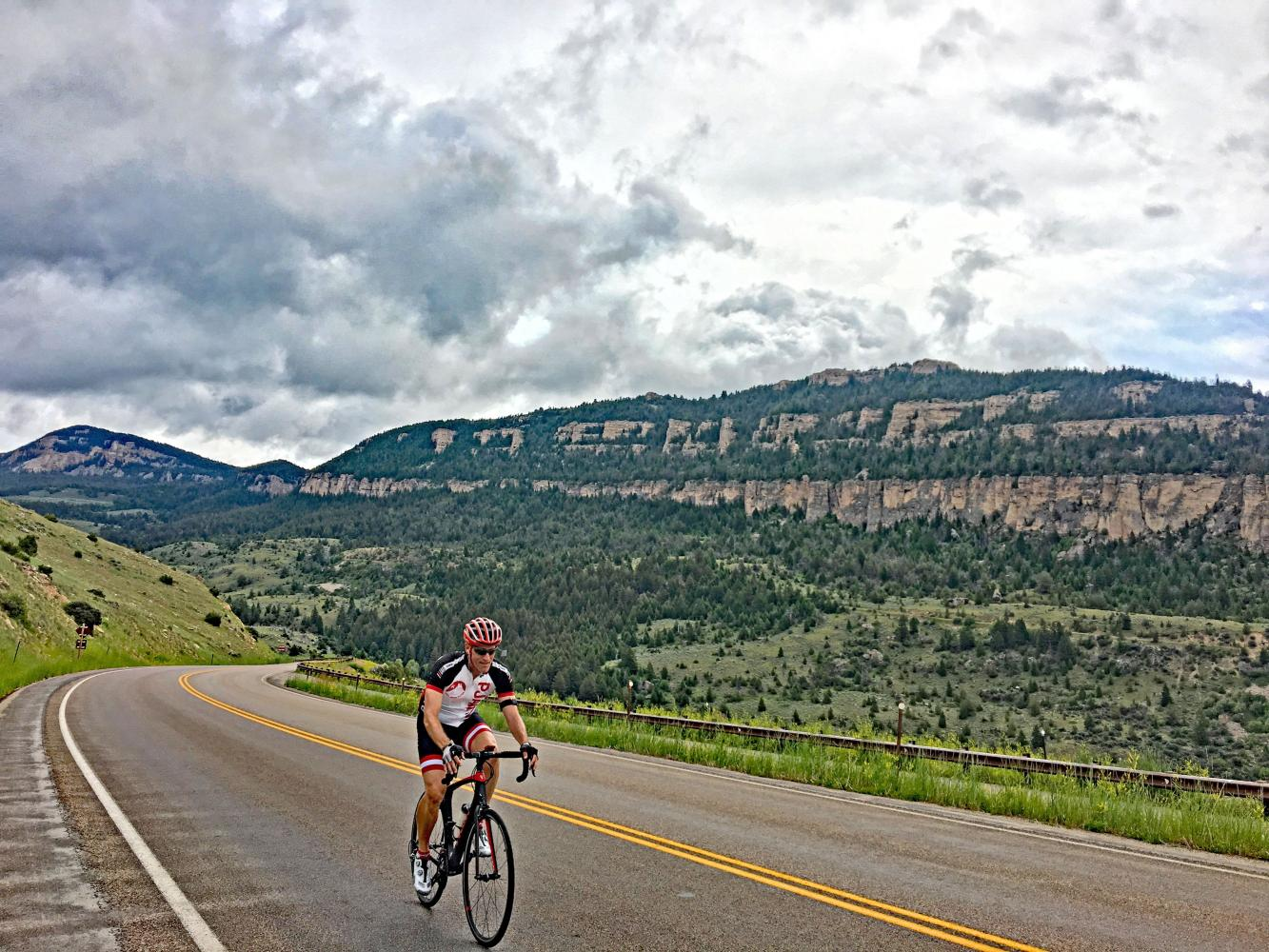 Powder River Pass West Bike Climb - PJAMM Cycling