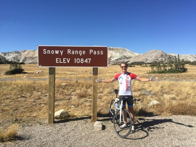 Snowy Range Pass East Bike Climb - PJAMM Cycling