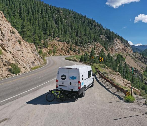 Monarch Pass West Bike Climb - PJAMM Cycling