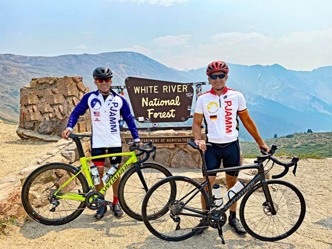 Loveland Pass from Georgetown Bike Climb - PJAMM Cycling