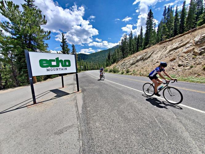 Juniper Pass East Bike Climb - PJAMM Cycling