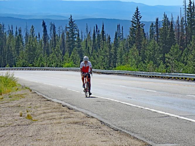 Rabbit Ears Pass Bike Climb - PJAMM Cycling