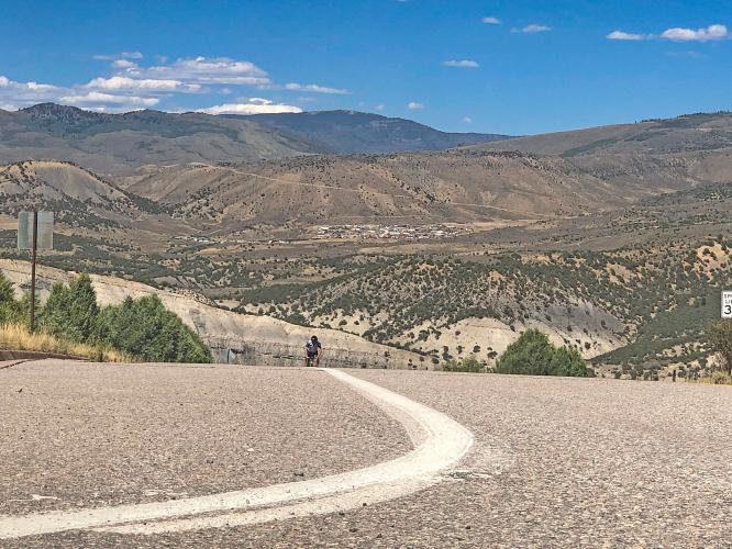 Bellyache Ridge Bike Climb - PJAMM Cycling