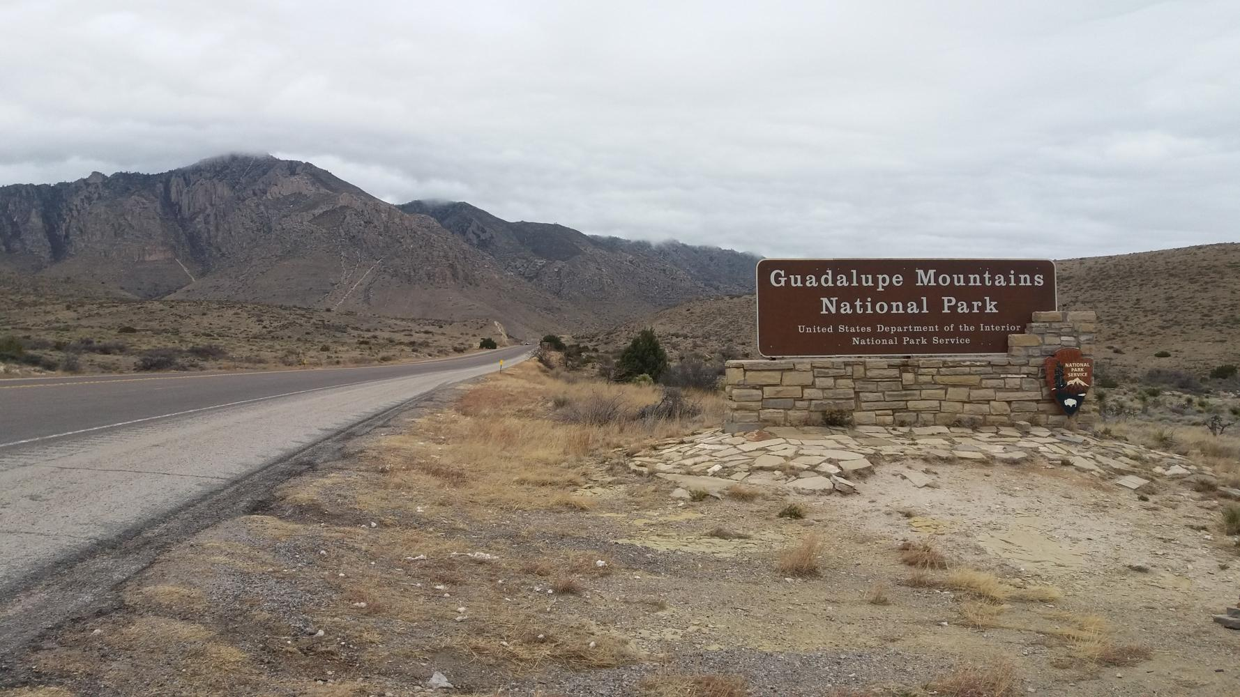 Guadalupe Mountains NP  Bike Climb - PJAMM Cycling