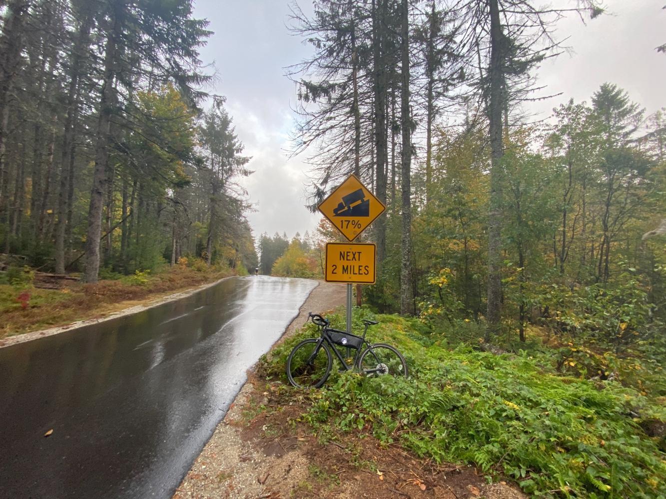 Hurricane Mt. Road West Bike Climb - PJAMM Cycling