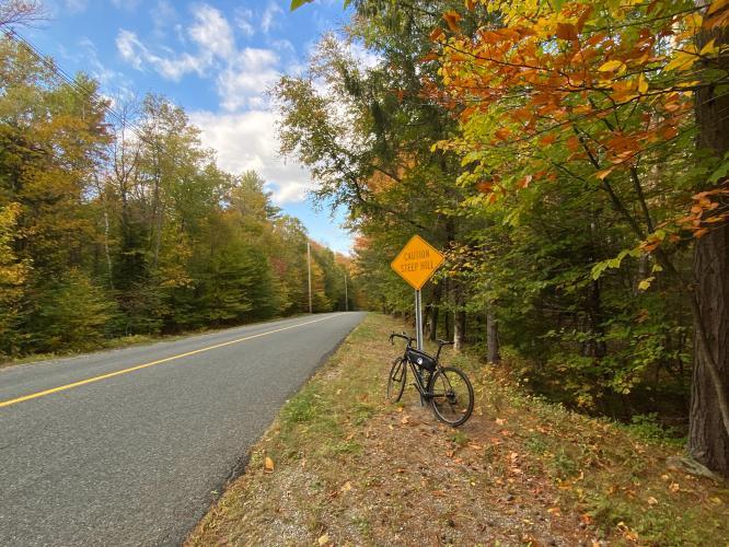 Monroe Hill Bike Climb - PJAMM Cycling