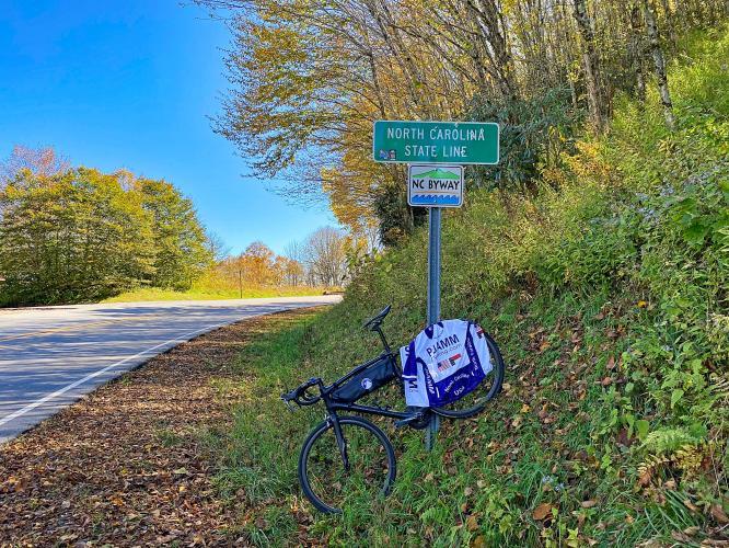 Cherohala Skyway (North Carolina) Bike Climb - PJAMM Cycling