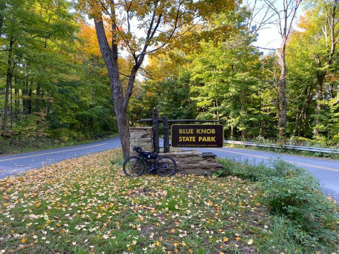Blue Knob State Park (Pavia Road) Bike Climb - PJAMM Cycling