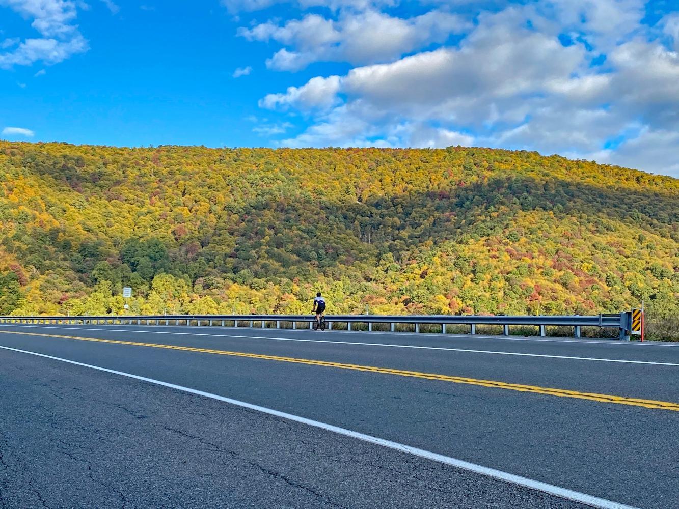 Tuscarora Summit East Bike Climb - PJAMM Cycling