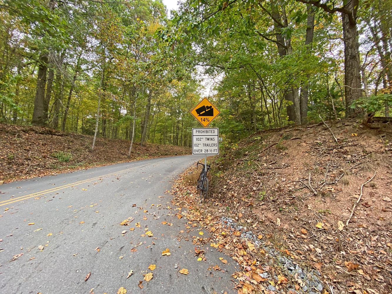 Carsonville Road South Bike Climb - PJAMM Cycling