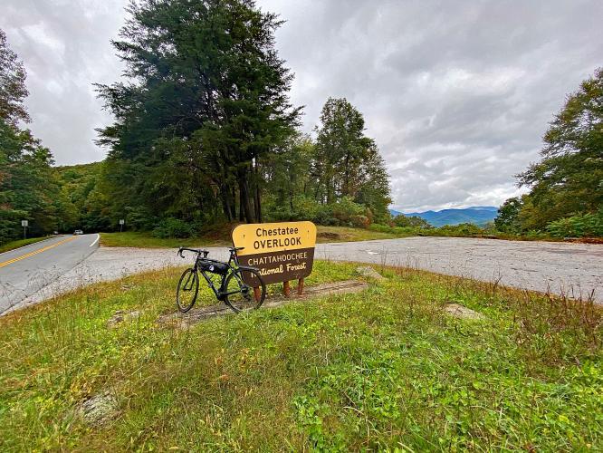 Woody Gap South Bike Climb - PJAMM Cycling