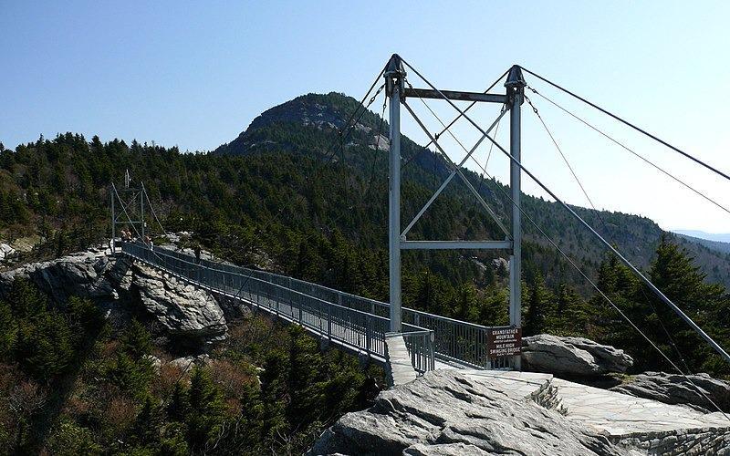 Grandfather Mountain Bike Climb - PJAMM Cycling