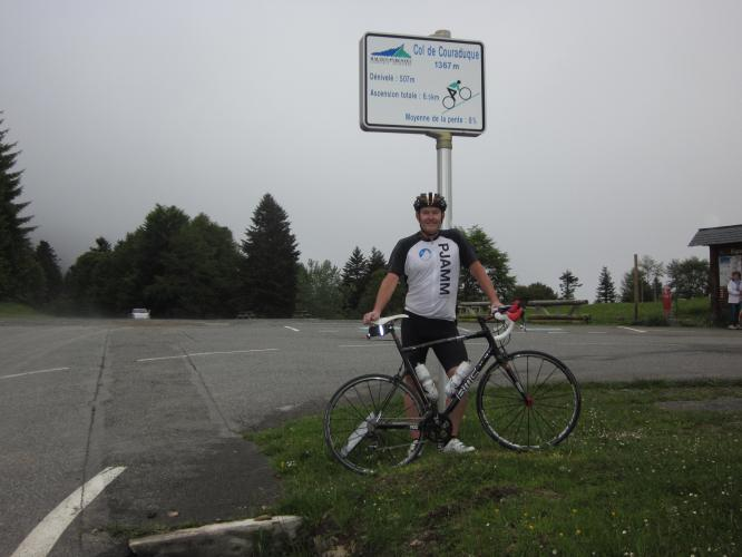 Col de Couraduque Bike Climb - PJAMM Cycling