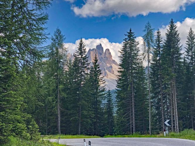 Passo Falzarego - Cortina  Bike Climb - PJAMM Cycling