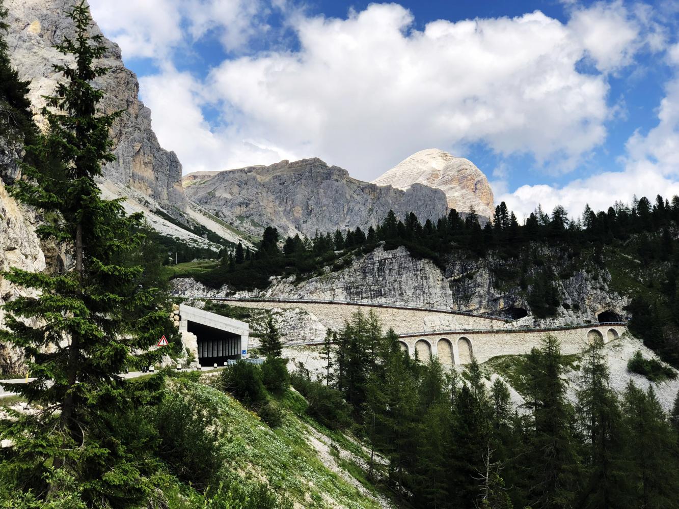 Passo Falzarego - Caprile Bike Climb - PJAMM Cycling