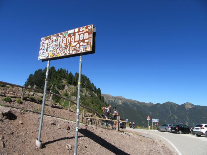Passo Manghen - Molina Bike Climb - PJAMM Cycling