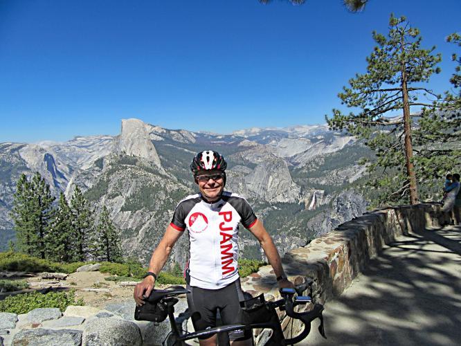 Glacier Point Bike Climb - PJAMM Cycling
