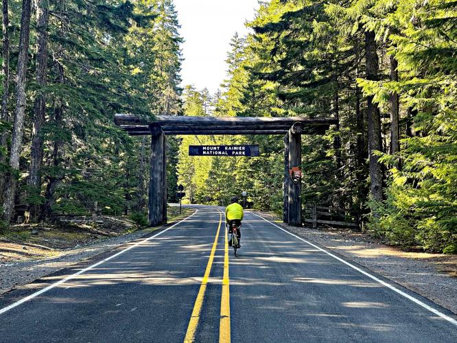 Mt. Rainier (Paradise) Bike Climb - PJAMM Cycling