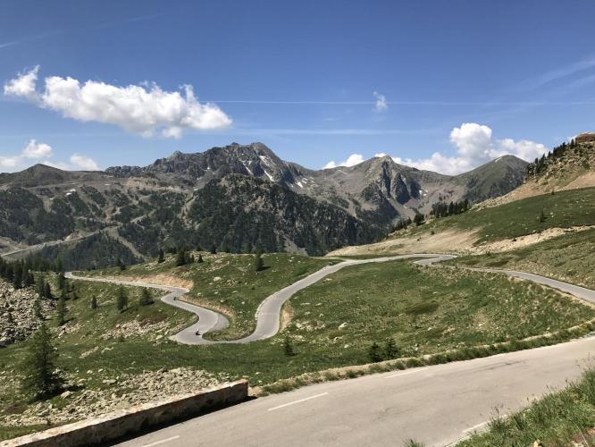 Col de la Lombarde Bike Climb - PJAMM Cycling