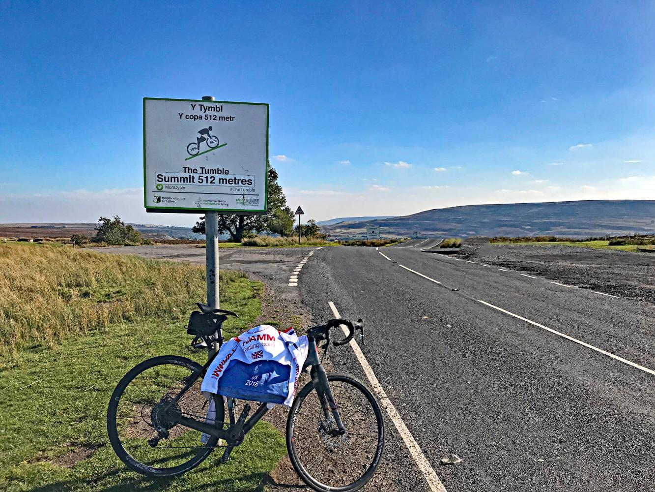 The Tumble (SW #97) Bike Climb - PJAMM Cycling