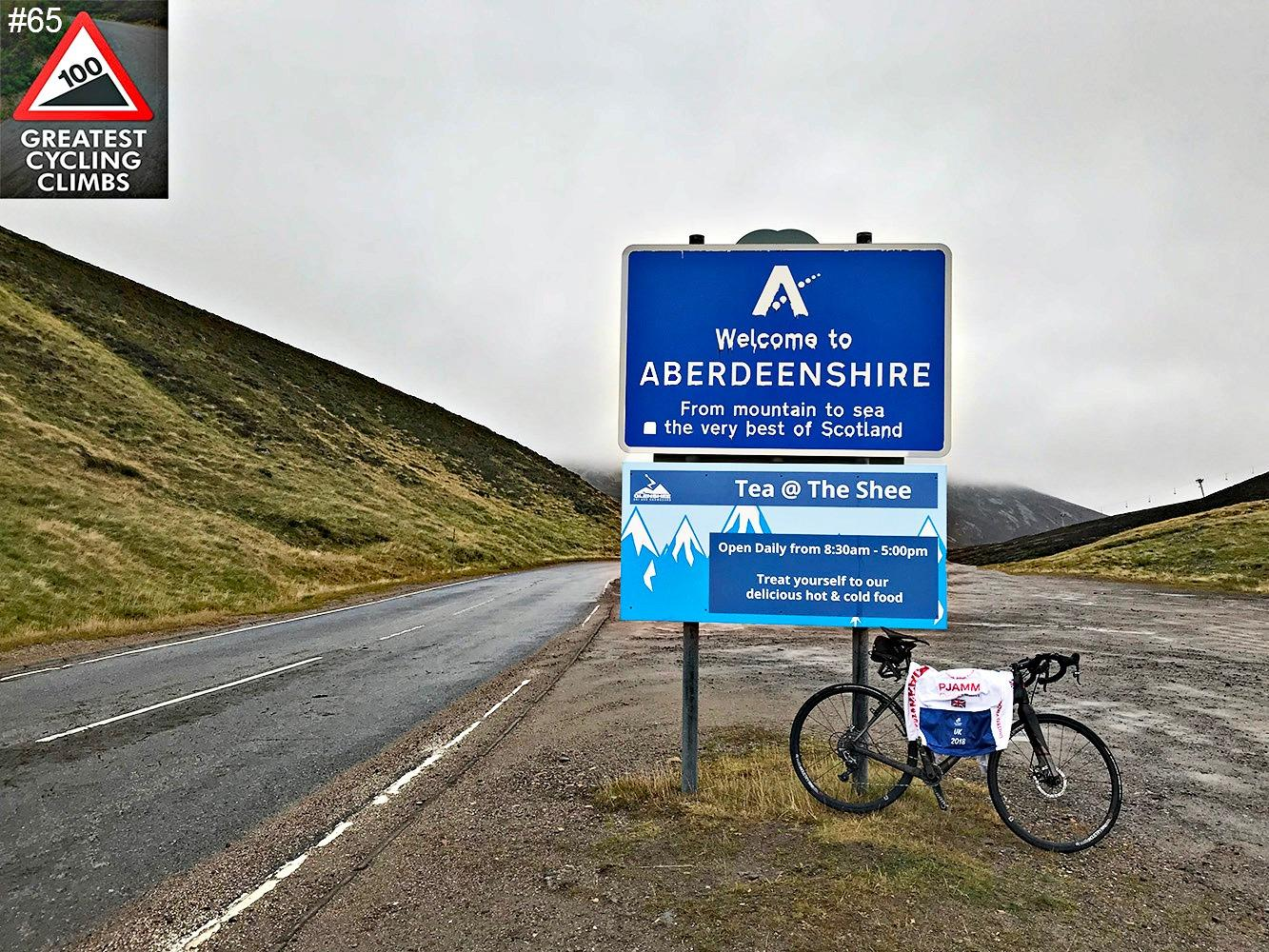 The Cairnwell (SW #65) Bike Climb - PJAMM Cycling