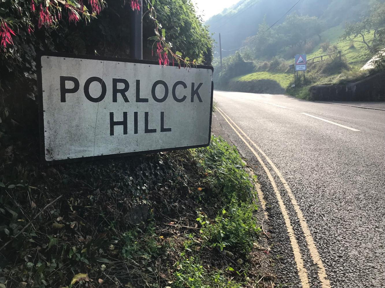 Porlock Hill (SW #4) Bike Climb - PJAMM Cycling