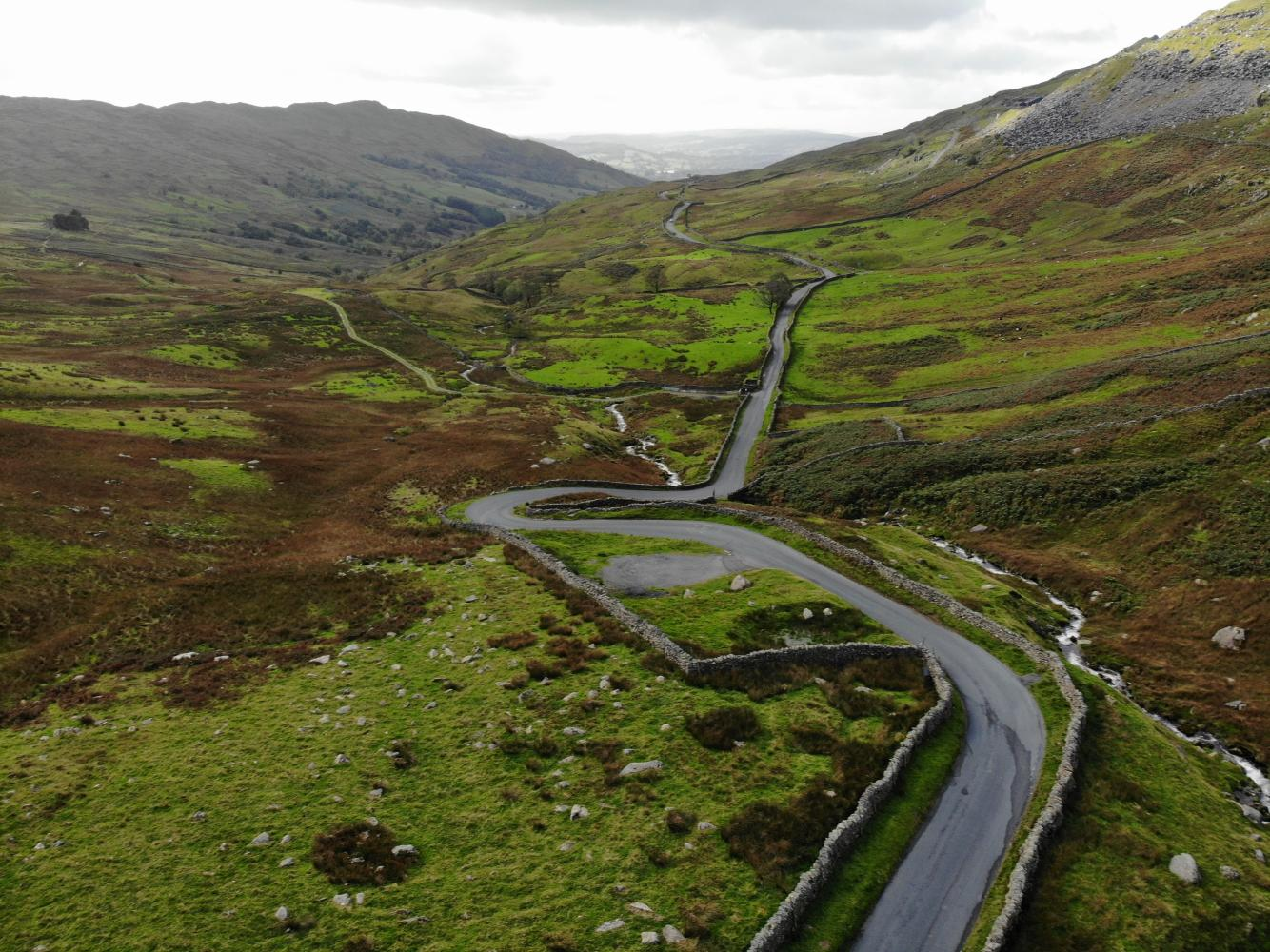 Kirkstone Pass - Ambleside  Bike Climb - PJAMM Cycling