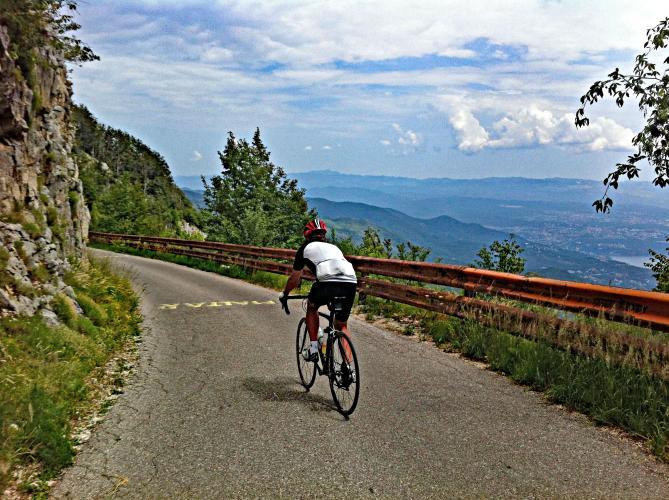 Vojak West Bike Climb - PJAMM Cycling