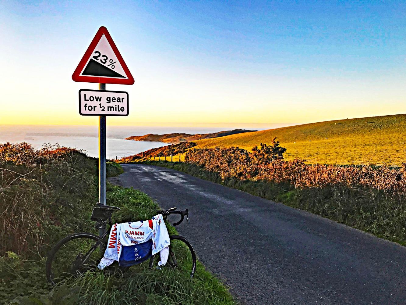 Challacombe Hill (SW #7) Bike Climb - PJAMM Cycling