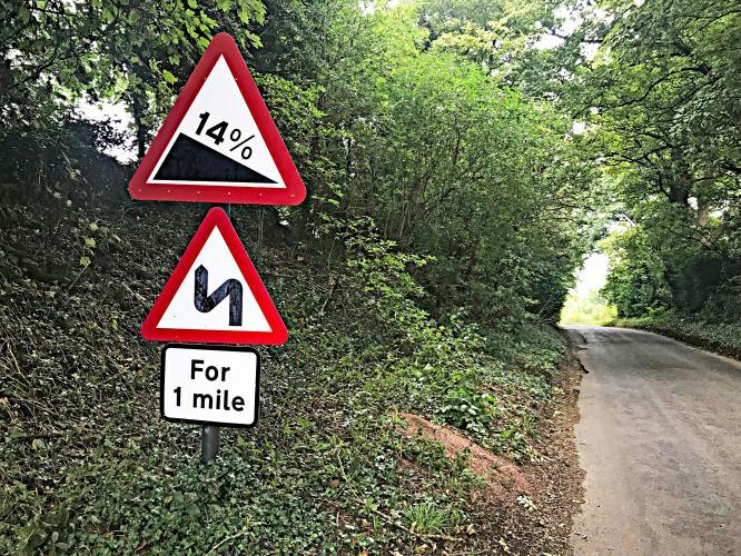 Dovers Hill (SW #13) Bike Climb - PJAMM Cycling