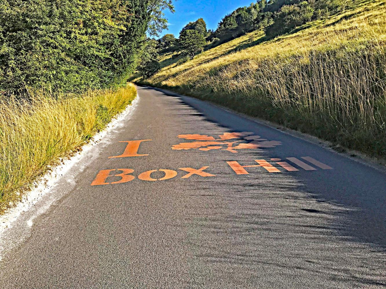 Box Hill (SW #14) Bike Climb - PJAMM Cycling
