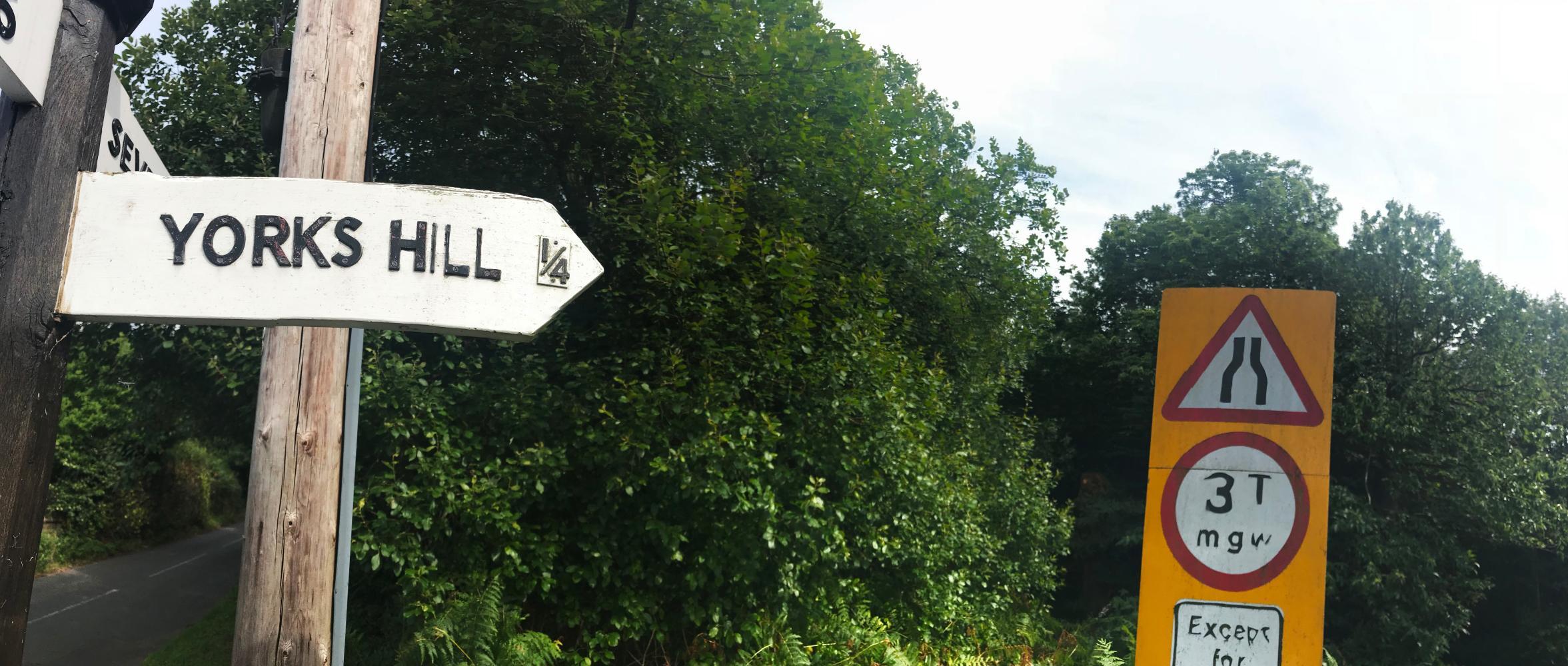 York's Hill (SW #15) Bike Climb - PJAMM Cycling