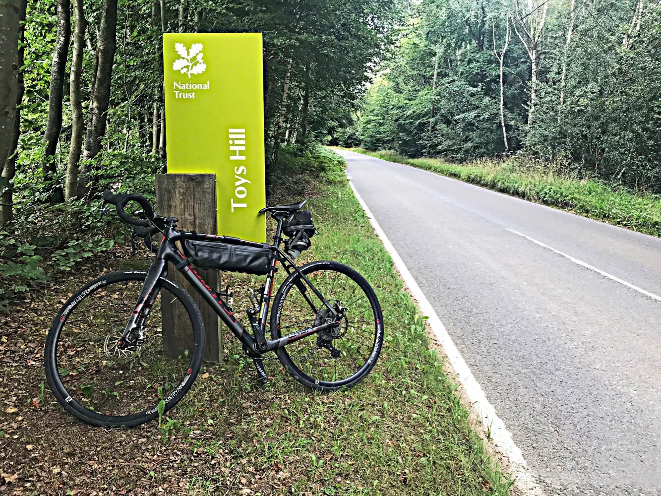 Toys Hill (SW #20) Bike Climb - PJAMM Cycling