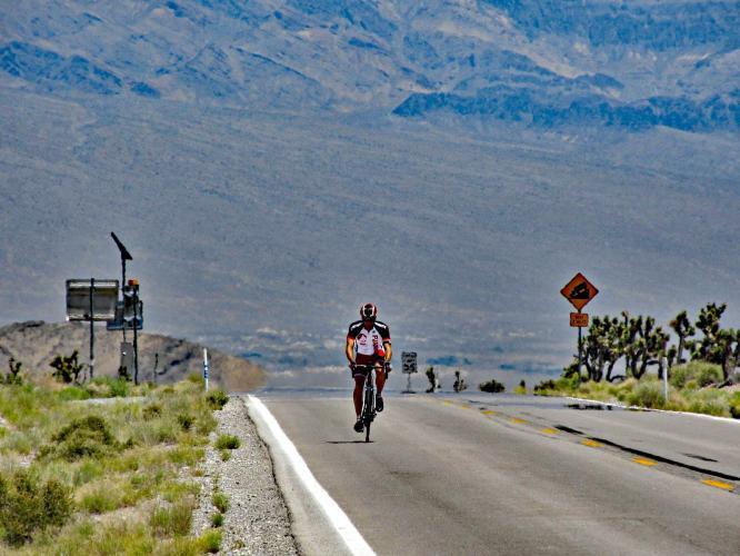 Lee Canyon  Bike Climb - PJAMM Cycling