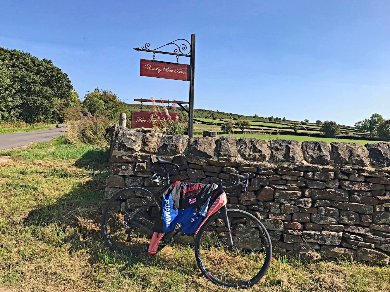 Rowsley Bar (SW #34) Bike Climb - PJAMM Cycling