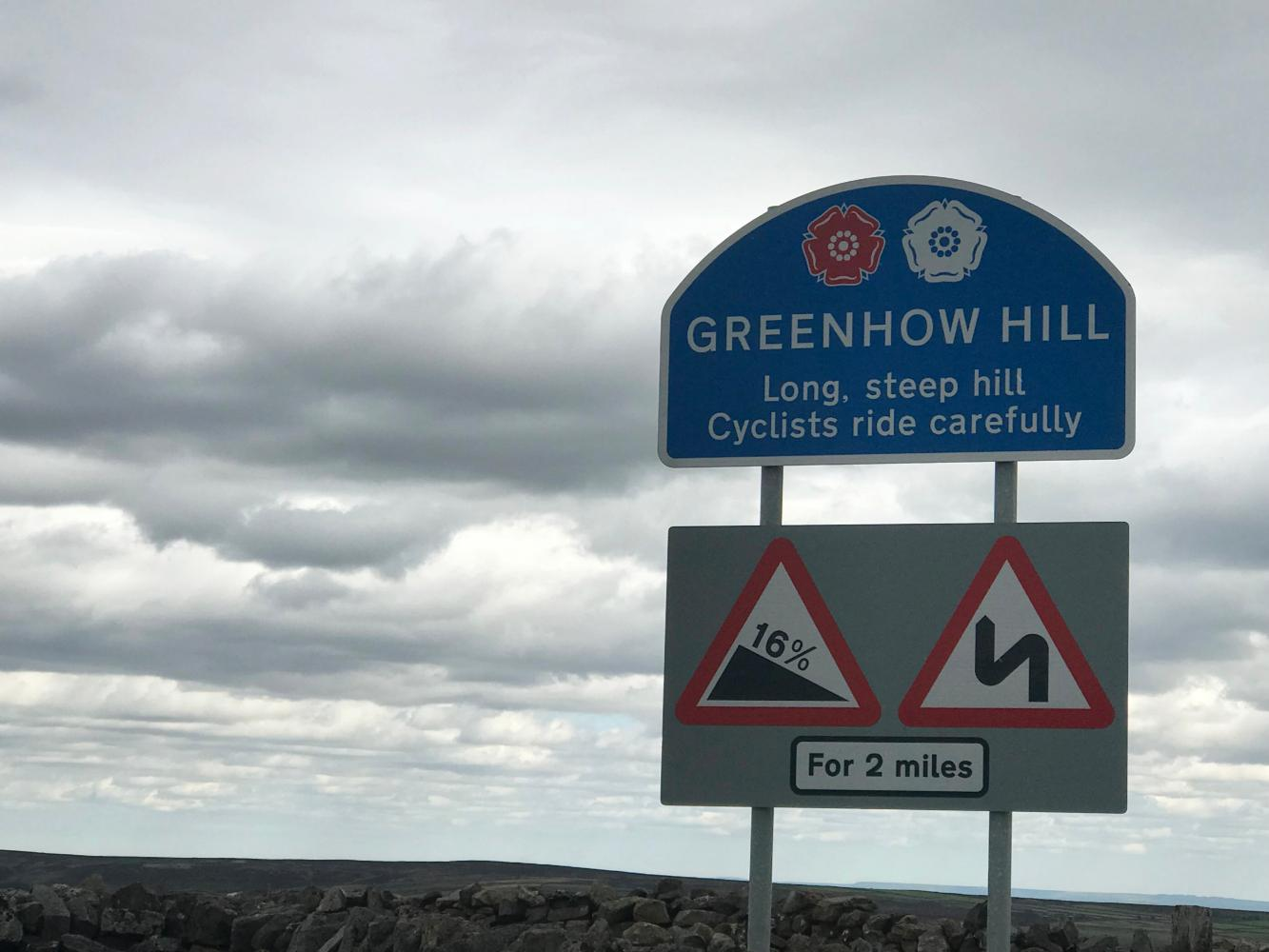 Greenhow Hill (SW #52) Bike Climb - PJAMM Cycling