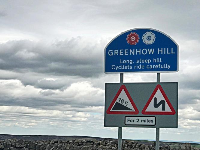 Greenhow Hill (SW #52) Bike Climb - PJAMM Cycling