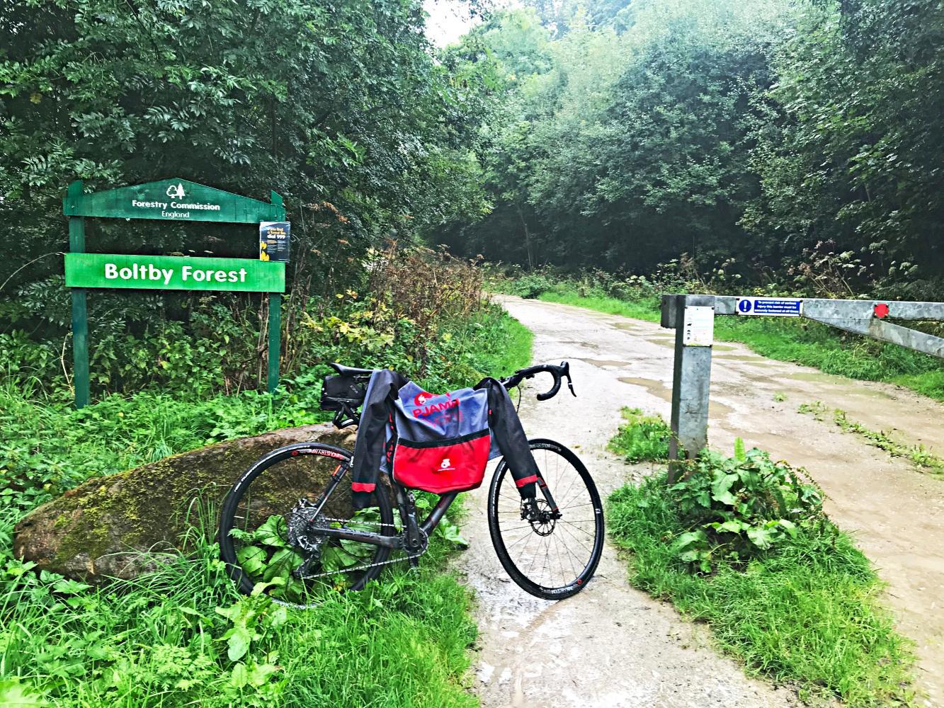 Boltby Bank (SW #54) Bike Climb - PJAMM Cycling