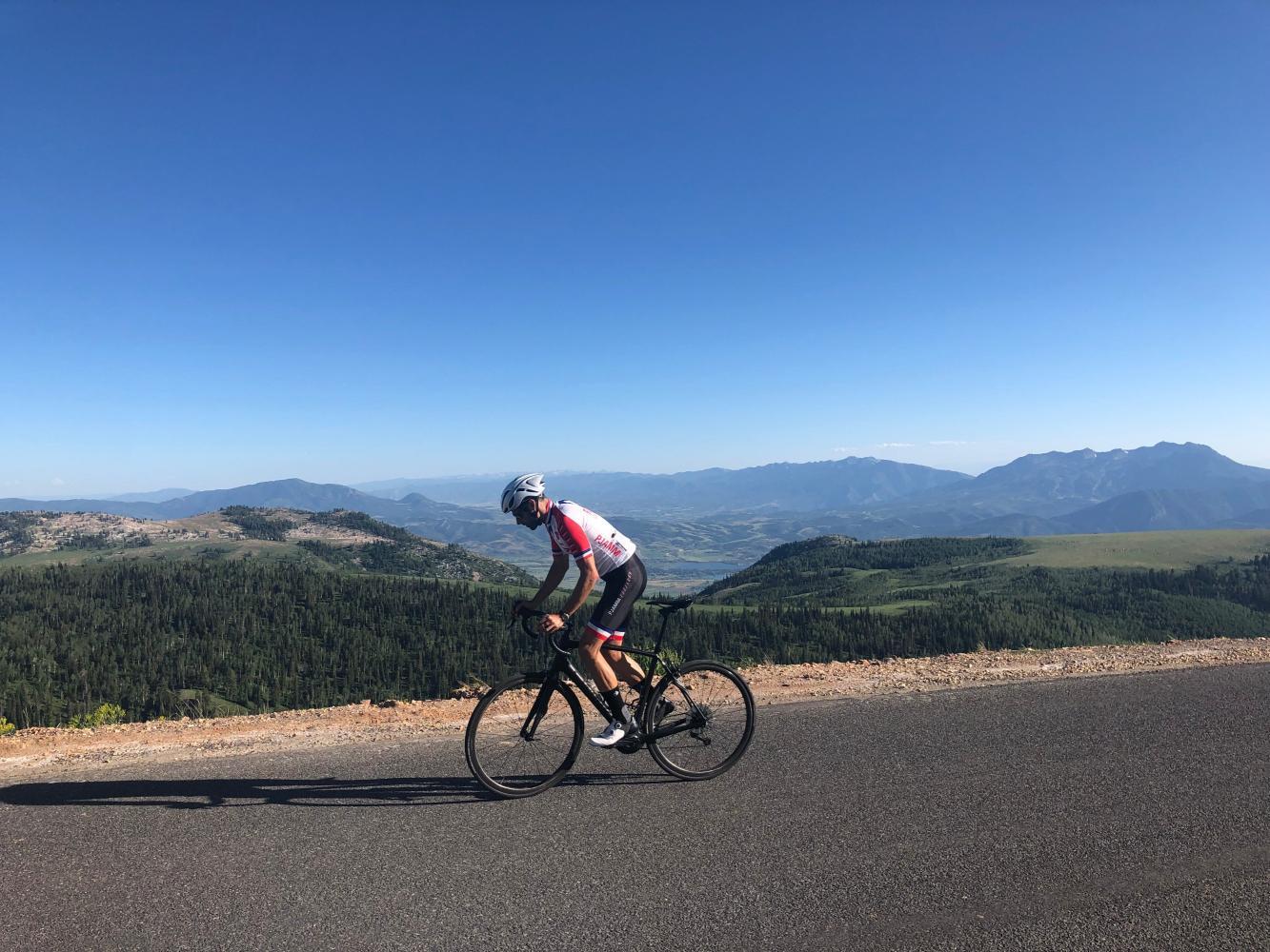 Powder Mountain Bike Climb - PJAMM Cycling